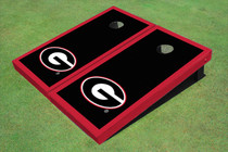 "University Of Georgia ""G"" Red Matching Border Cornhole Boards"