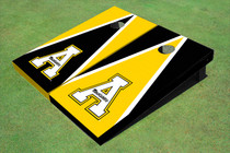 "Appalachian State University ""A"" Alternating Triangle Cornhole Boards"