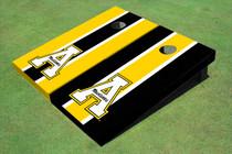 "Appalachian State University ""A"" Alternating Long Stripe Cornhole Boards"
