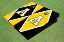 "Appalachian State University ""A"" Alternating Diamond Cornhole Boards"