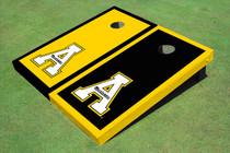 "Appalachian State University ""A"" Alternating Border Cornhole Boards"
