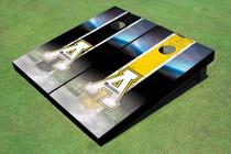 "Appalachian State University ""A"" Field Long Strip Alternating Themed Cornhole Boards"