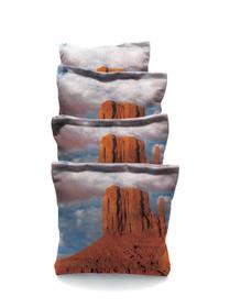 4 Dersert Rock Custom Cornhole Bags