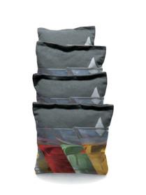 4 Martini Glass Custom Cornhole Bags