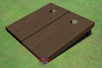 Onyx Stained Solid Border Cornhole Boards