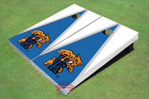 University Of Kentucky Wildcat Blue And White Matching Triangle Cornhole Boards