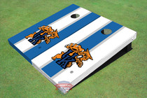 University Of Kentucky Wildcat Alternating Long Stripe Cornhole Boards