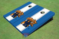 University Of Kentucky Wildcat White Matching Long Stripe Cornhole Boards