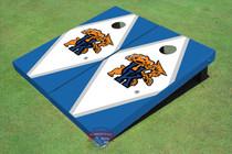University Of Kentucky Wildcat White And Blue Matching Diamond Cornhole Boards