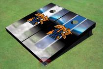 University Of Kentucky Wildcat Field Alternating Long Strip Themed Cornhole Boards