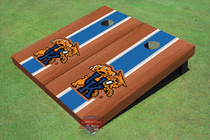 University Of Kentucky Wildcat Blue Rosewood Matching Long Stripe Cornhole Boards