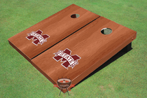 Mississippi State University Solid Rosewood Cornhole Boards