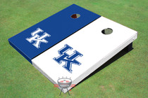 University Of Kentucky Alternating Solid Cornhole Boards