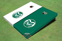 Colorado State University Rams Alternating Cornhole Boards
