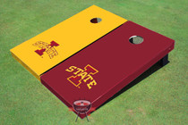 "Iowa State University ""I"" Alternating Solid Cornhole Boards"