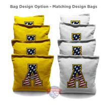 """Appalachian State University """"A"""" Cornhole Bags"""