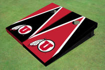 University Of Utah 'U' Alternating Triangle Cornhole Boards
