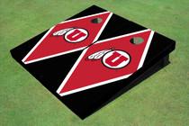 University Of Utah 'U' Red And Black Matching Diamond Cornhole Boards