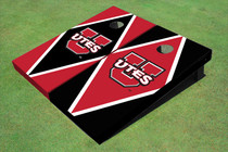 University Of Utah 'UTES' Alternating Diamond Cornhole Boards