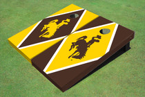 University Of Wyoming Cowboys Alternating Diamond Cornhole Boards