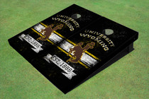 University Of Wyoming Cowboys Solid EST Themed Cornhole Boards