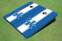 University Of Kentucky White Matching Long Stripe Cornhole Boards