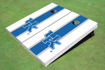 University Of Kentucky Blue Matching Long Stripe Cornhole Boards