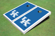 University Of Kentucky White Matching Border Cornhole Boards