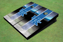 University Of Kentucky Field Matching Blue Long Strip Themed Cornhole Boards