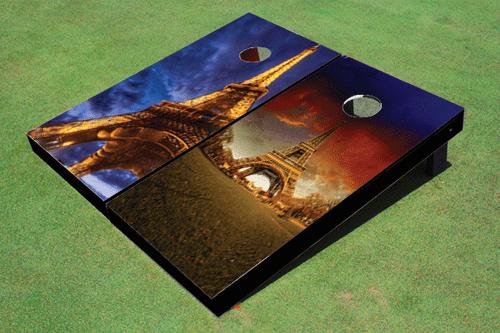 Paris Eiffel Tower Custom Cornhole Board