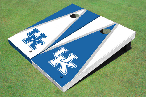 University Of Kentucky Alternating Triangle Cornhole Boards
