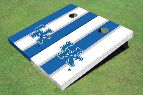University Of Kentucky Alternating Long Stripe Cornhole Boards
