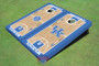 University Of Kentucky Alternating UK Logo & Rupp Arena Basketball Court Themed Cornhole Boards
