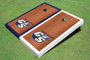 "Georgia Southern University ""GS"" Rosewood Alternating Border Cornhole Boards"