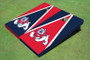 Fresno State Bulldog Alternating Triangle Cornhole Boards