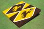 University Of Wyoming Cowboys Alternating Diamond Cornhole Boards