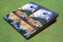 Custom Hooked Bass Cornhole Boards