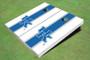 University Of Kentucky Blue Matching Long Stripe Cornhole Boards