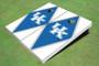 University Of Kentucky Blue And White Matching Diamond Cornhole Boards