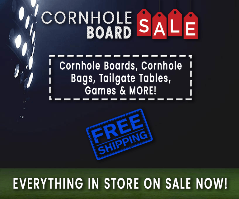Custom Cornhole Boards for Sale
