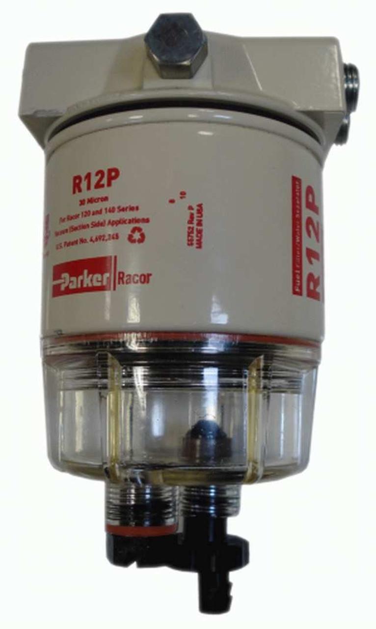Racor 120AP FF/WS ASSEMBLY,15GPH,30MIC