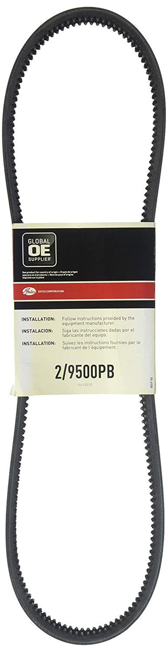 Gates 2/9500PB Green Stripe® PowerBand® Belts