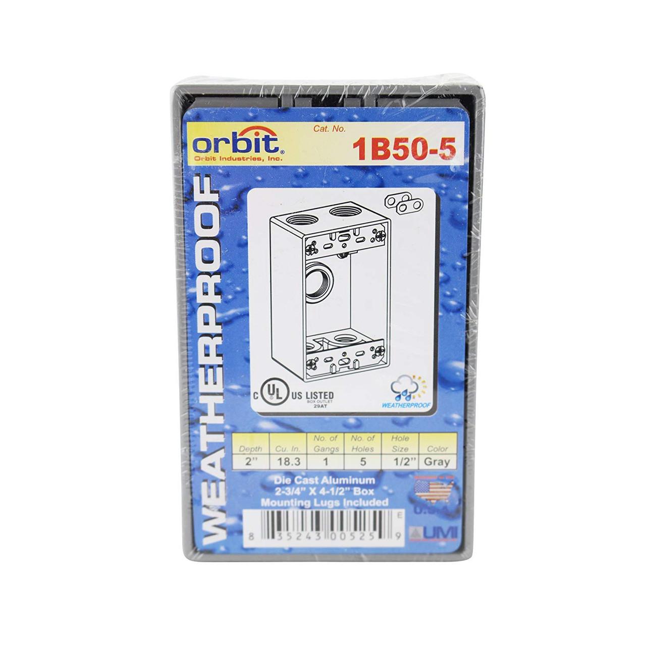 Orbit ORB 1B50-5