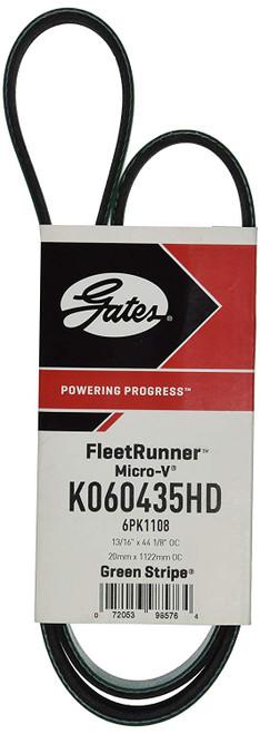 Gates K060435HD FleetRunner® - Micro-V® Belts