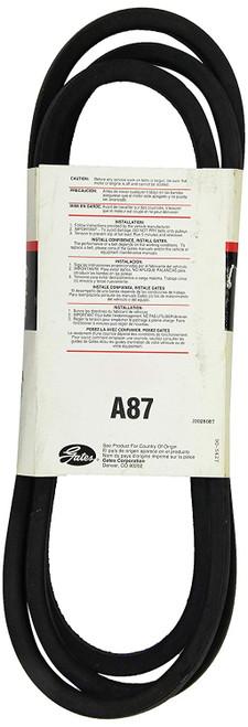 Gates A87 Hi-Power® II V-Belts