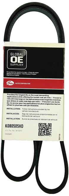 Gates K080505HD FleetRunner® - Micro-V® Belts