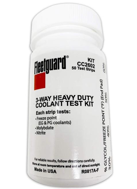 Fleetguard CC2602 Coolant Test Strips