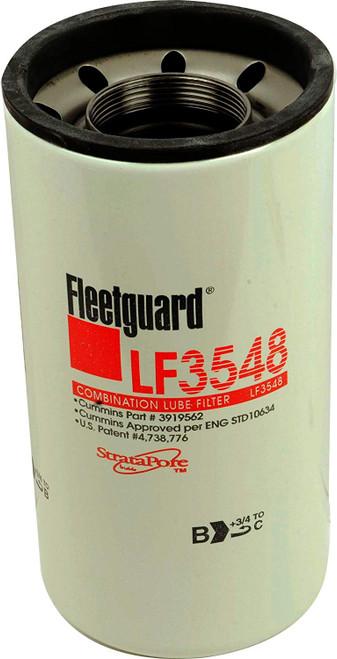 Fleetguard LF3548 Oil Filter Cellulose SpinOn