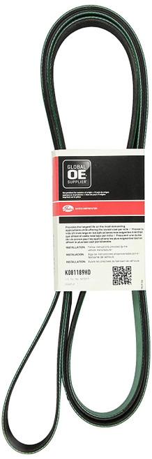 Gates K081189HD FleetRunner® - Micro-V® Belts