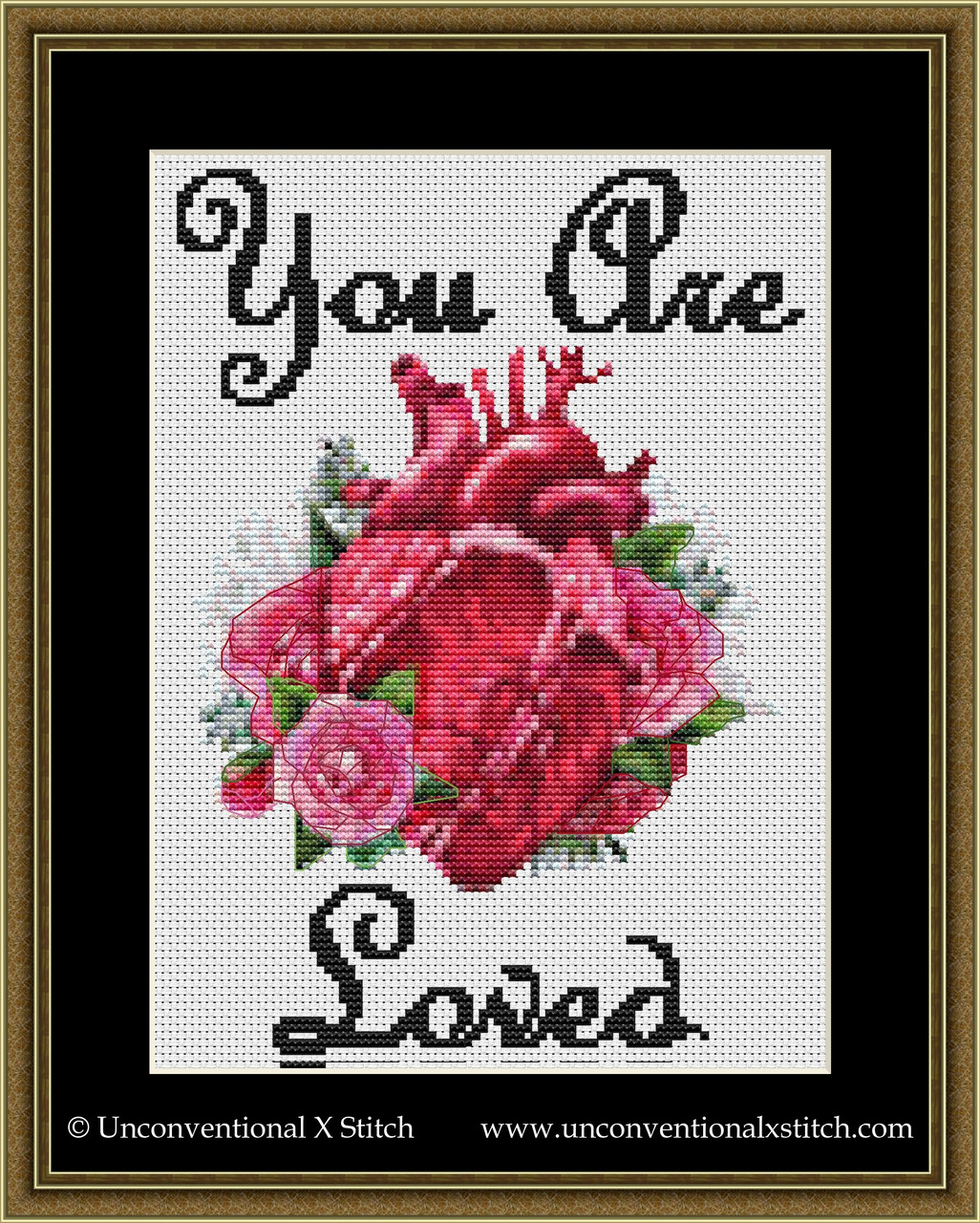 Cross Stitch Pattern Wizard Pattern You are so loved wizard Cross Stitch Pattern Funny cross stitch #005 Loved Pattern PDF